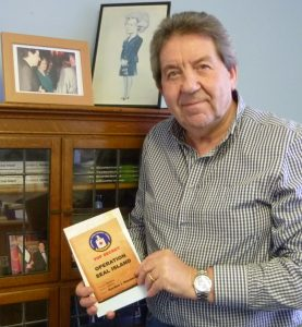 MP donates book royalties to thank hospital for burns care