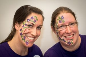 Staff face the facts for facial palsy