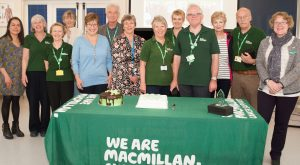 Macmillan Cancer service at the Queen Victoria Hospital turns five