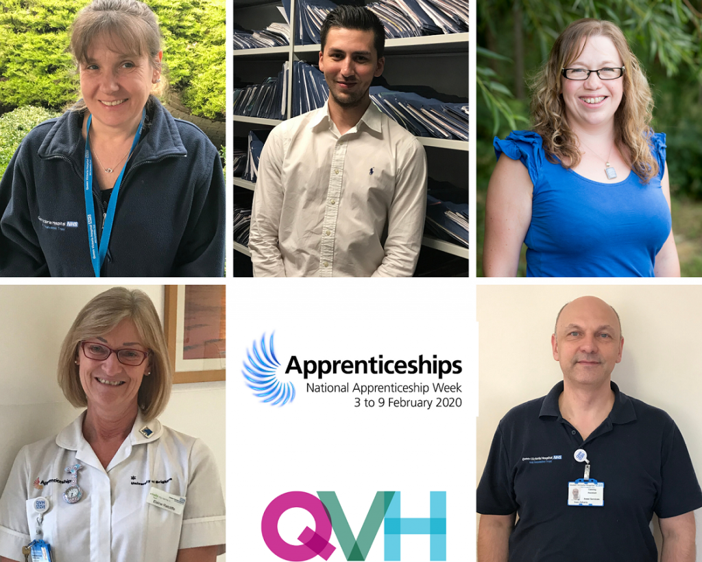 Meet some of our apprentices